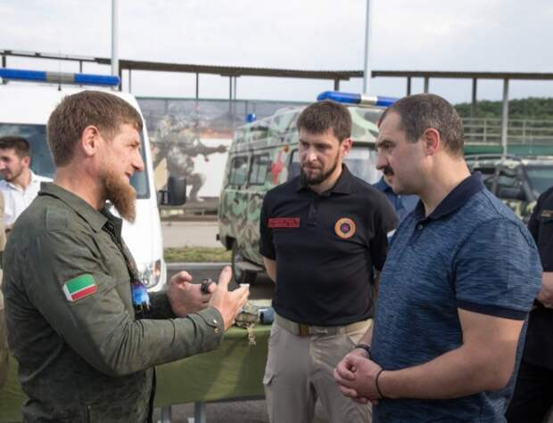 Старший сын Лукашенко встретился сКадыровым