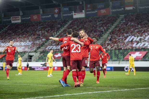 Швейцария – Турция: Сеферович открыл счет в матче (видео)