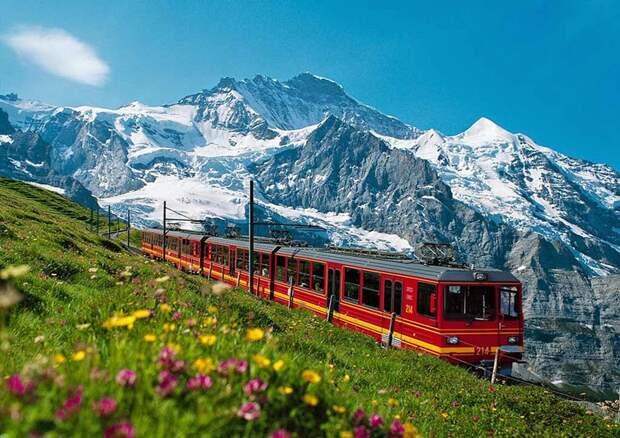 Chbahns07 Топ 5 самых необычных железных дорог Швейцарии