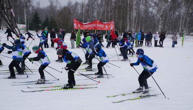 Около 200 подольчан приняли участие в соревнованиях по лыжным гонкам