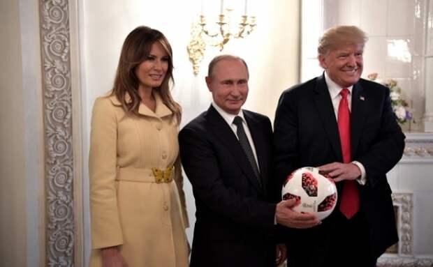 Первая леди США испугалась Путина до смерти? (ВИДЕО, ФОТО)