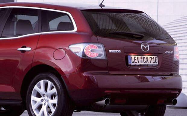 Mazda отзывает почти 36 000 машин из-за фонарей