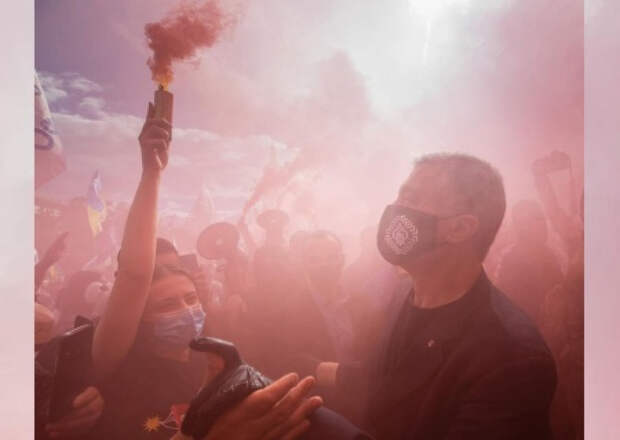 В день всеукраинского траура Порошенко с размахом отпраздновал день рождения