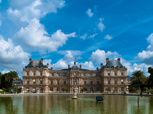 Франция. Париж. Люксембургский сад. (Dan Zelazo)