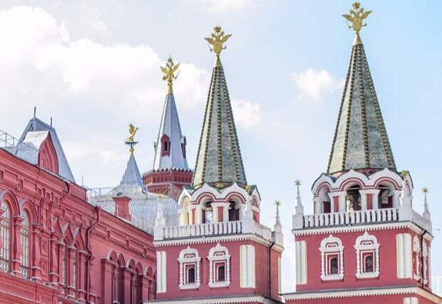 В историческом центре Москвы. Фото: mos.ru