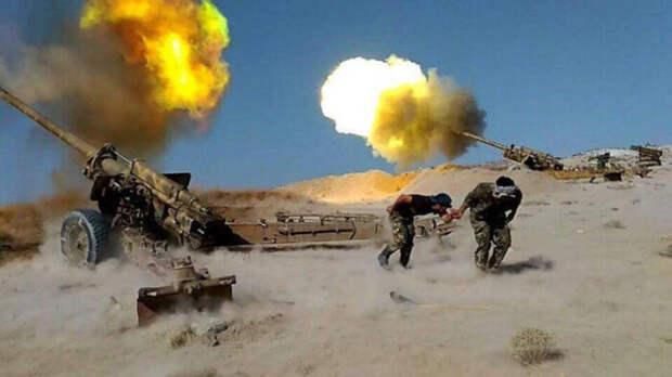Турецкие силы наносят в Сирии артиллерийские удары по позициям САА вИдлибе
