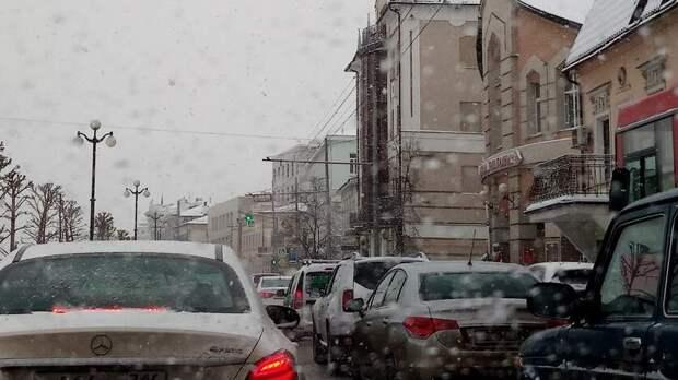 Татарстанцев предупредили осильном ветре игололедице