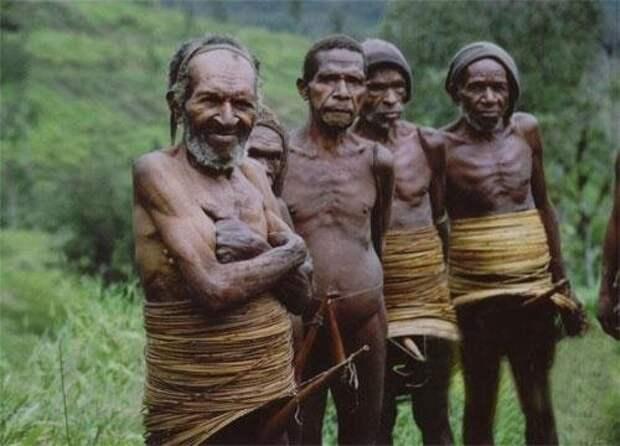 Племена каннибалов на острове Борнео