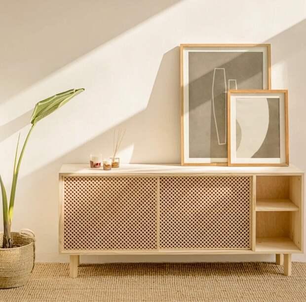 Тренд Cannage вернулся: 5 причин выбрать мебель с плетеными вставками