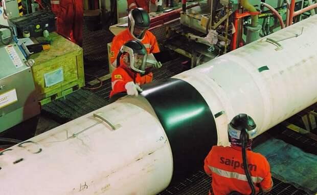 «Газпром» назвал срок окончания строительства «Северного потока-2»