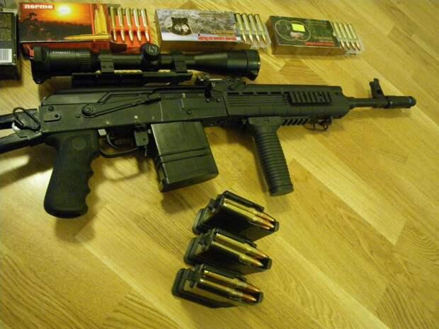 «Сайга-308» — нарезной отечественный карабин под патрон НАТО