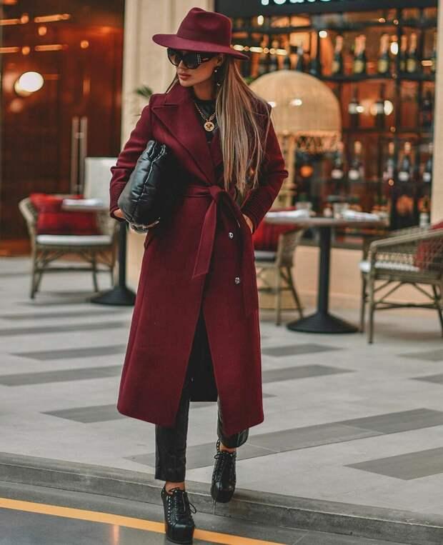 Образ роскошной женщины: модные осенние цветовые сочетания