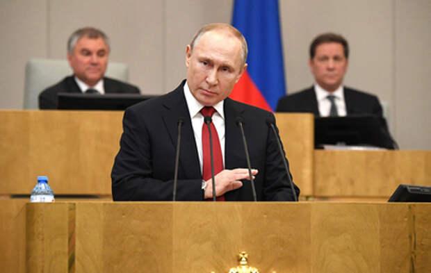 Путин внес в Госдуму законопроект о запрете второго гражданства для госслужащих