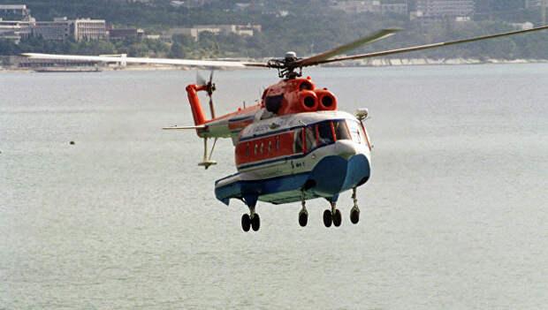 Многоцелевой вертолет-амфибия Ми-14. Архивное фото
