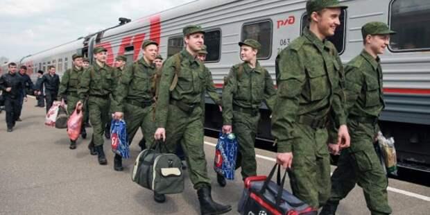 Путин отправил россиян в армию