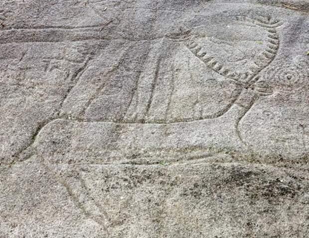 Petroglyph-in-Campo-Lameiro