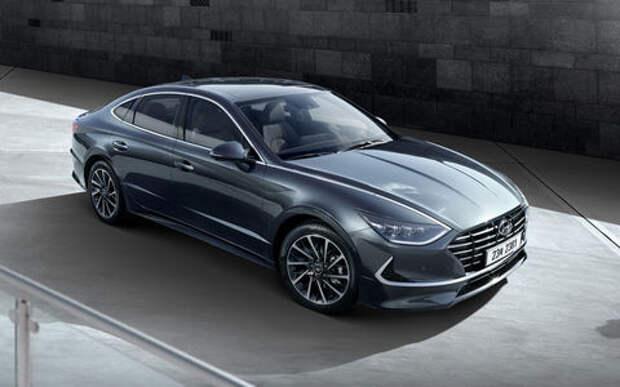 Hyundai показал новую Sonata