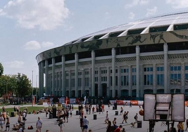 Московскую фан-зону Евро-2020 в «Лужниках» начали демонтировать
