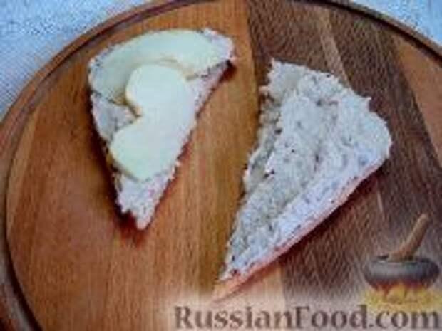 Фото приготовления рецепта: Сэндвичи с форшмаком - шаг №12