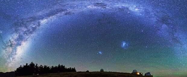 Чистое ночное небо над озером Текапо+видео