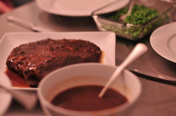 Мясной соус за минуту: готовим на грязной сковороде из под мяса