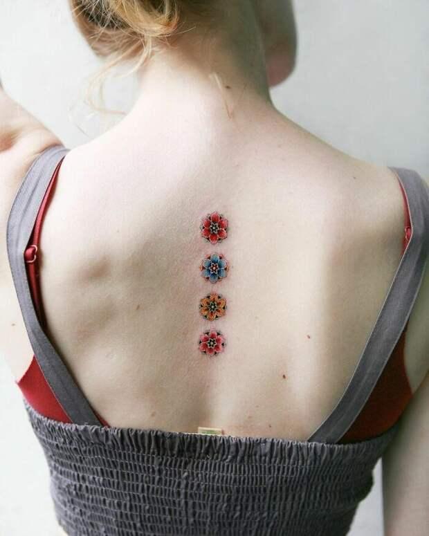 30 изысканных работ татуировщицы изЮжной Кореи