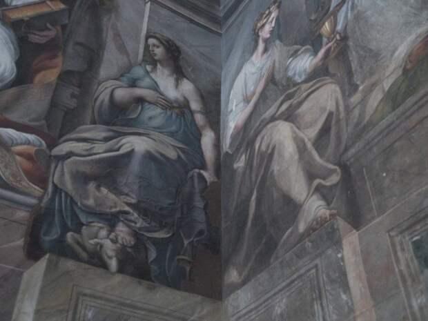 Обнаруженные три года назад в Ватикане фрески Рафаэля станут доступны для публики