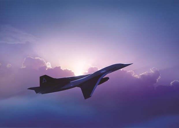 Испытания двигателя для сверхзвукового пассажирского самолета начнутся в 2020 году