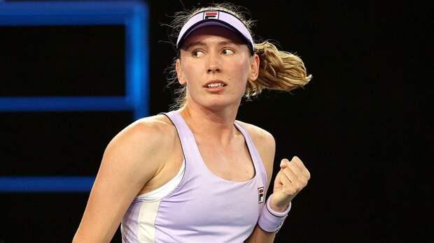 Русская теннисистка ужасно провела концовку и едет домой
