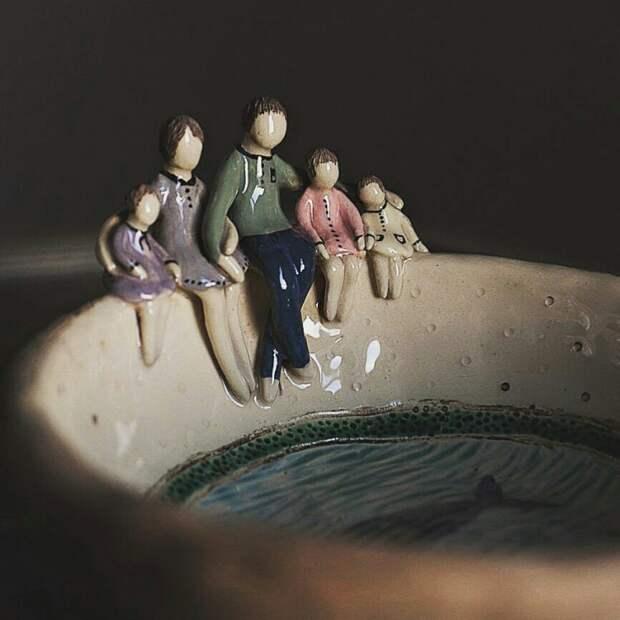 Керамические семейки Nadya Ivkova