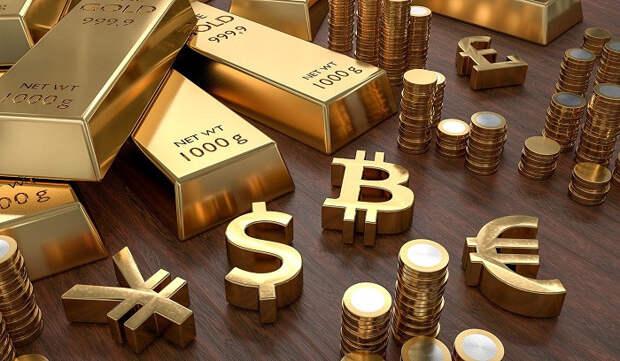 Танцы на костях: золото растет на обвале доллара и казначейских облигаций