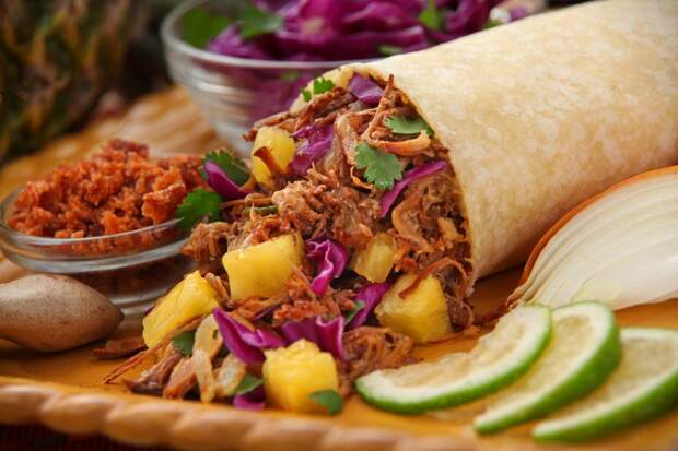 Рецепт мексиканского буррито