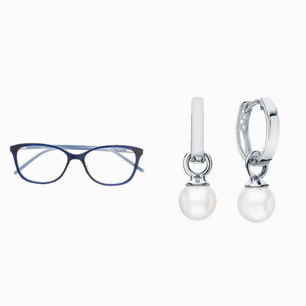 Очки для зрения и серьги на каждый день: 6 стильных пар