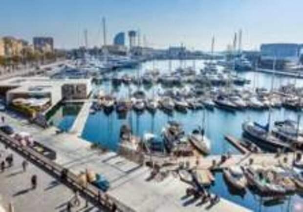 В Барселоне появились волнорез и новая обзорная площадка