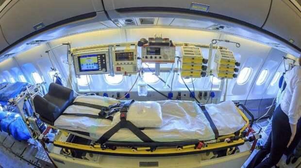 Как выглядит «летающая больница» борьбы с коронавирусом