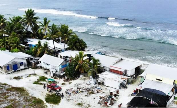 """Этот участок жители """"отбили"""" у океана, устроив небольшой намыв"""