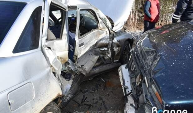 43-летний мужчина погиб влобовом ДТП натрассе под Нижним Тагилом