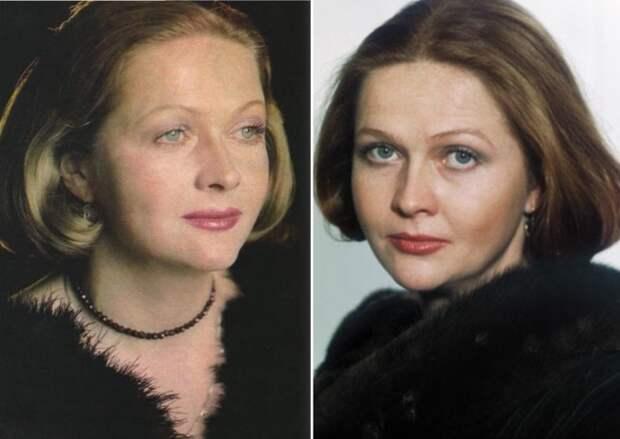 Лучшая актриса по результатам опросов журнала *Советский экран*   Фото: kinopoisk.ru и kino-teatr.ru