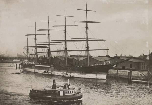 Пятимачтовый барк Potosi, 1924 год / Фото: pinterest.com