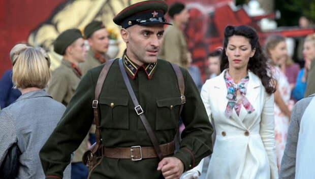 Актер Баблишвили сыграет командира взвода в фильме про подольских курсантов