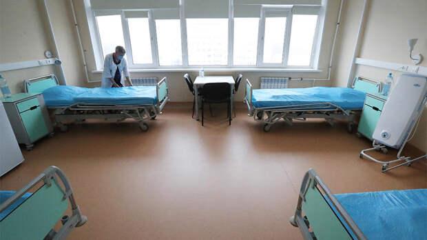 Число коек для больных COVID могут увеличить до 24 тыс. в Москве