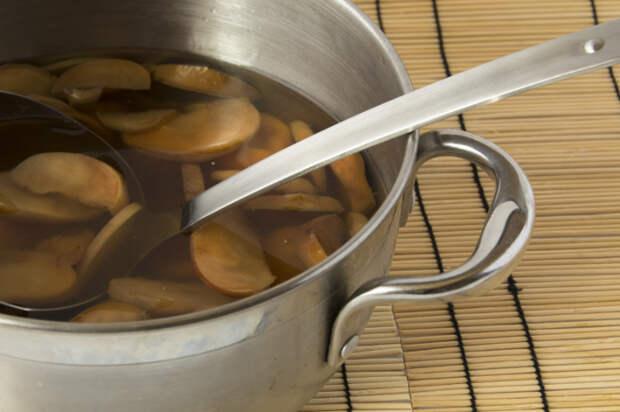 яблочный кисель как варить