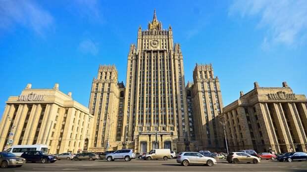 В МИД России отреагировали на угрозы санкций США из-за Белоруссии