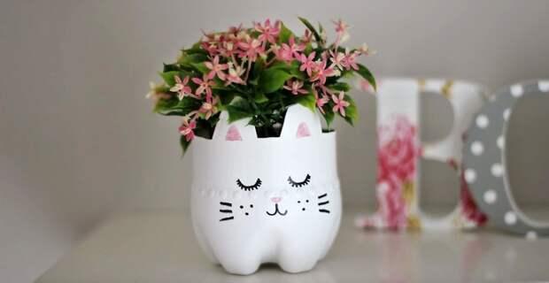 ваза в форме кота