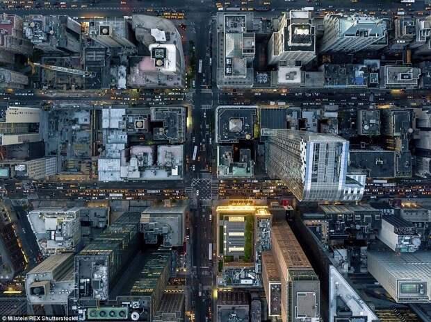Нью-Йорк с высоты птичьего полёта