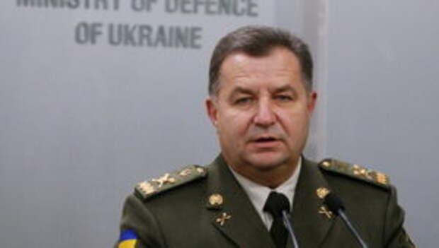Министр обороны Украины пообещал адекватный ответ на учения «Запад-2017»
