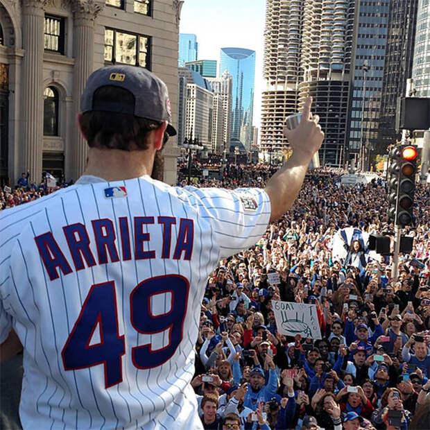 Победа Chicago Cubs в 2016 стала поводом для гулянки 5 млн человек