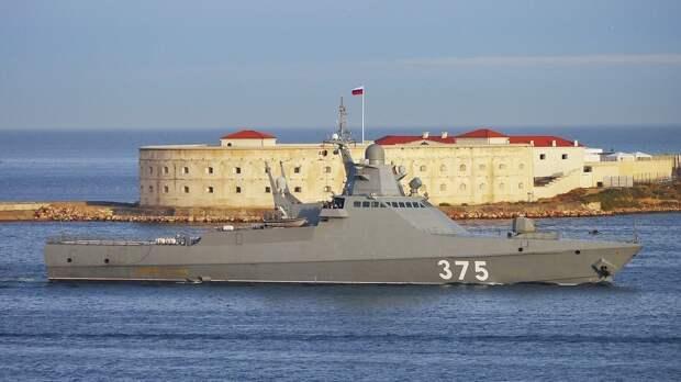 Корветы Черноморского флота непрерывно наблюдали за действиями кораблей НАТО
