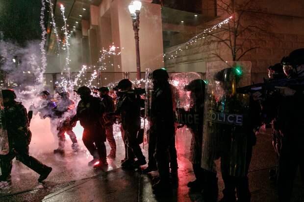 Новогодние погромы в Портленде