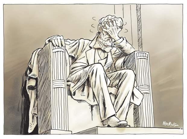 Это же позорище, издевательство над этой демократией!